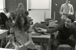 Cutting up in class, Molesworth Jr. High, 1970