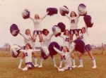 Submitted by Donna Phillips-Turner: Molesworth Cheerleaders