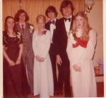 Submitted by D. Phillips-Turner: Prom night:  Donna Phillips, Ian Seeley, Sondra Wolf, Garry Phillips, Michael Stickney