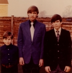From Left to Right     Bruce - Paul and Dave Winters  Paul's Lakenheath Grad Photo  (Paul died in 1985)