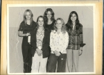 Submitted by Terri Crocker-Dumas: girls for homecoming 1975; Linda Ramsey won