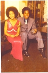 Submitted by Andre Everett: Tank Everett and his English date, 1973
